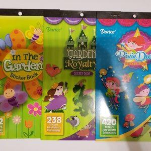 Other - Set of sticker books, 3 books
